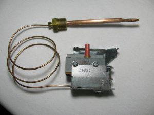 High Limit Capillary and Bulb Thermostat, 351-254480, HIgh Limit Capillary Thermostat, High Limit Capillary Bulb and Thermostat, STEMCO