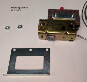 Capillary Thermostat Bracket Assembly Step 1